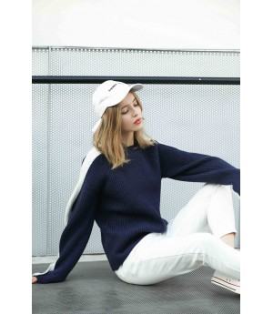 MacyMccoy Crash sleeves and sweaters-Blue