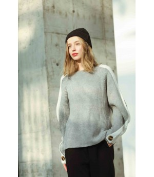 MacyMccoy Crash sleeves and sweaters-Grey