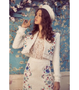 Marie Elie Embroidery Coat