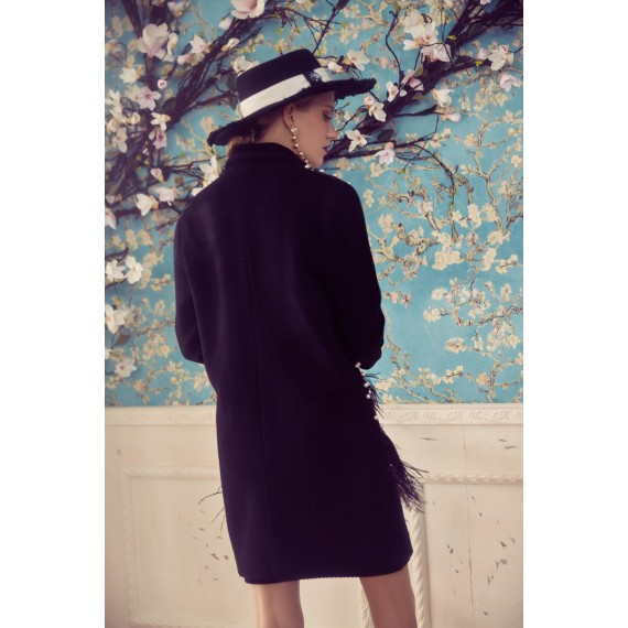 Marie Elie Pearl Geometry Coat