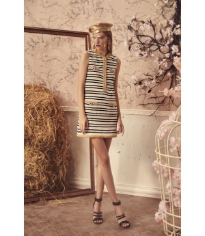 Marie Elie Stripe Dress