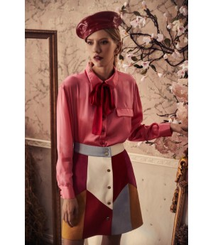 Marie Elie Mixed Color Skirt