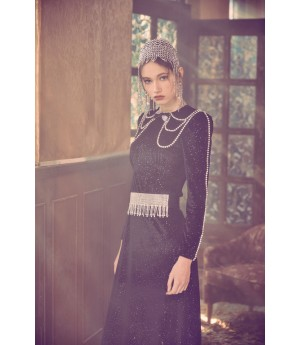 Marie Elie Starry Sky Dress (with free belt)