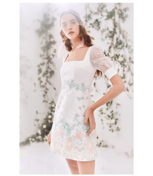 Marie Elie White Dress