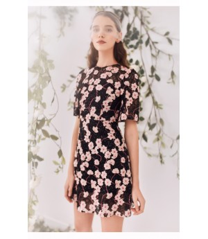 Marie Elie Black Dress