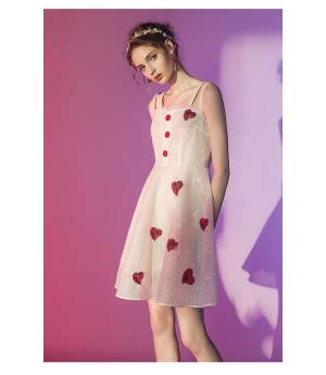 Marie Elie Heart Dress