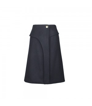 Moi. LeRoi Top Layered Skirt