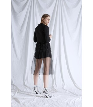 Rumia Back Arc Blazer Dress