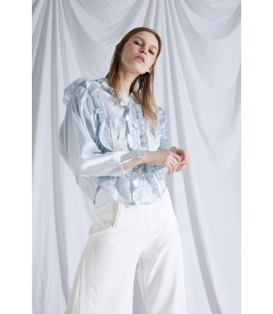 Rumia If Desired Blouse- Pastel Blue