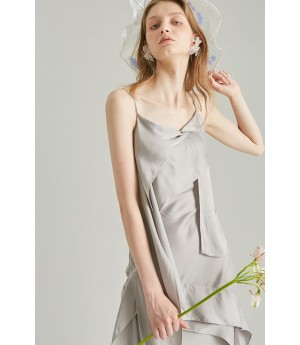 Rumia Grey Focal Area Dress