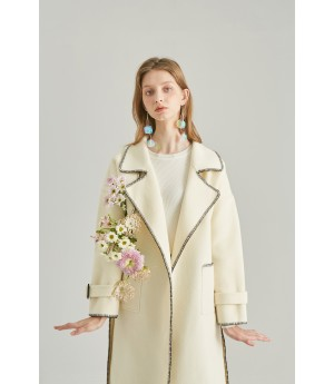 Rumia Albarracin Wool Coat