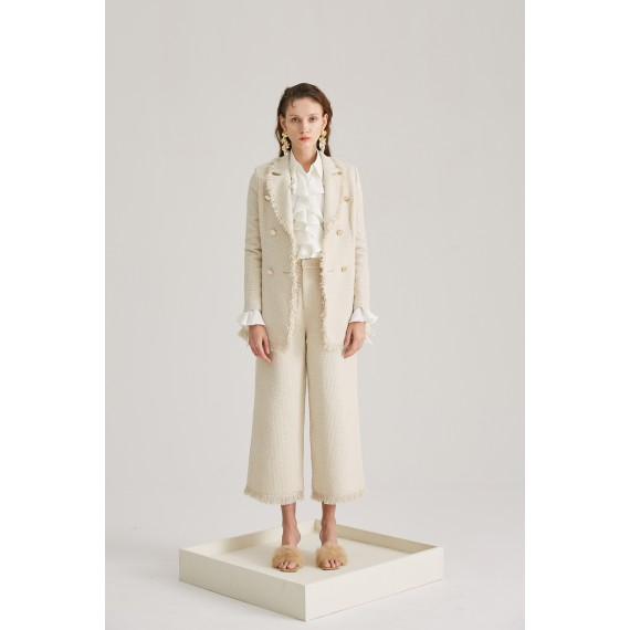 Rumia Rumor Tassel Pants-Cream