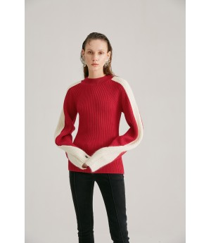 Rumia Timeless Knit Jumper-Red