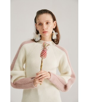 Rumia TImeless Knit Jumper-Ivory