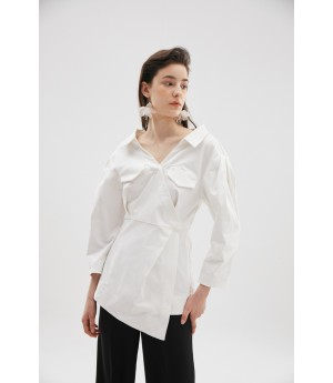 Rumia Sail Up Jacket-White