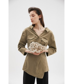 Rumia Sail Up Jacket-Khaki