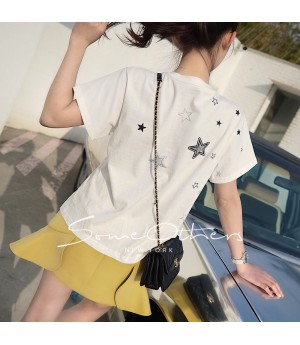 SomeOthers Star Tees-White