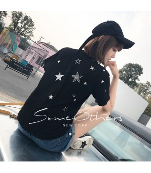 SomeOthers Star Tees-Black