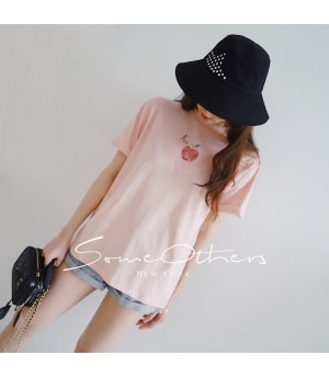SomeOthers Fruit Cloud T-Shirt-Pink