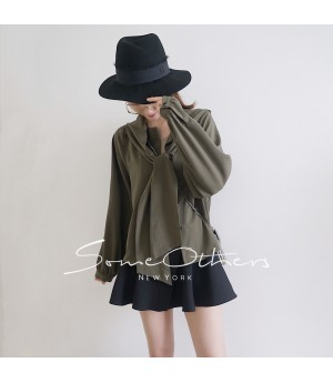 SomeOthers Hooded Shirt-Green