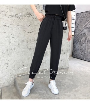 SomeOthers Harem Pants-Black