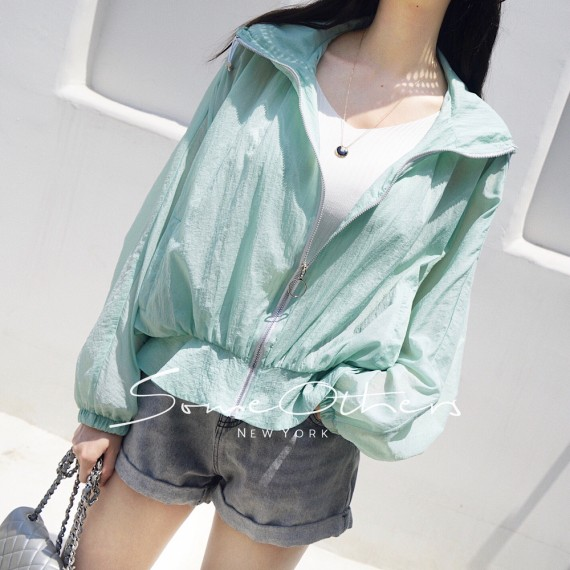 SomeOthers hooded Jacket-Green
