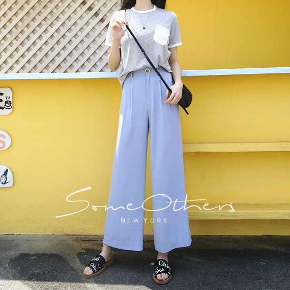 SomeOthers Flare Pants-Blue