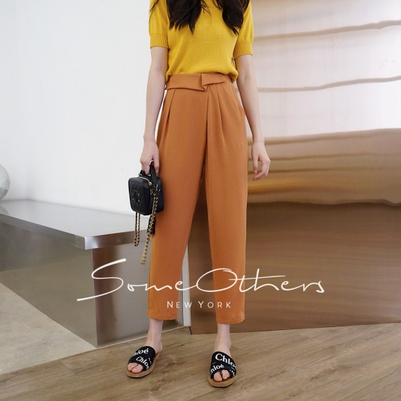 SomeOthers Casual Pants-Pumpkin