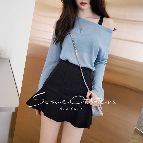 SomeOthers Casual Tops-Blue
