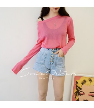SomeOthers Casual Tops-Pink