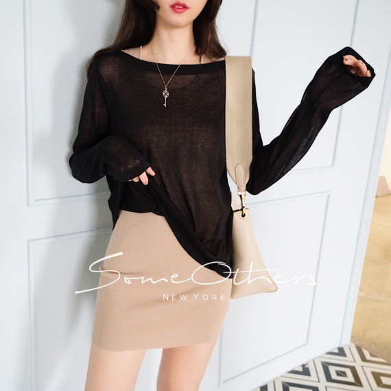 SomeOthers Casual Tops-Black
