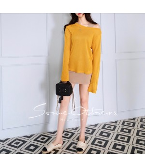 SomeOthers Casual Tops-Yellow