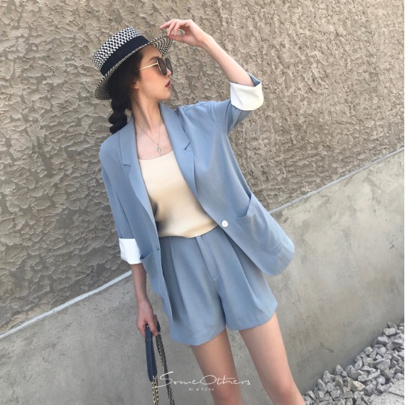 SomeOthers Two-Piece Suite-Blue