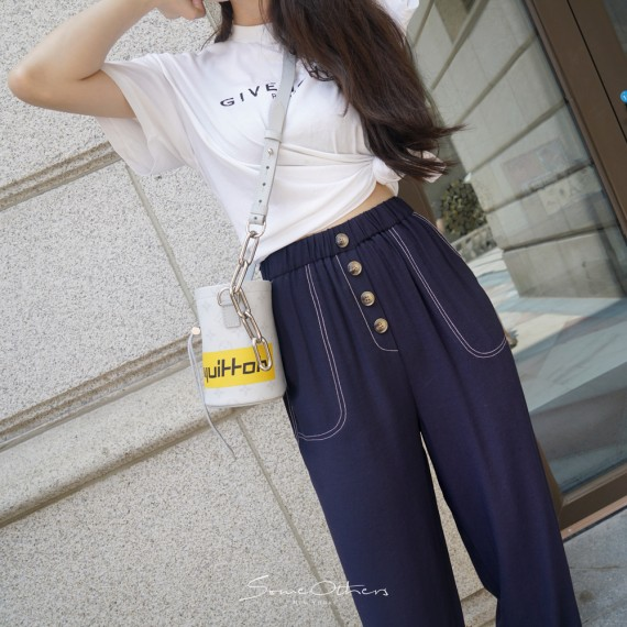 SomeOthers Casual Pants-Navy