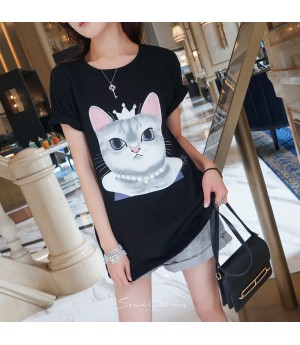 """SomeOthers """"Kitty Queen"""" Tees"""