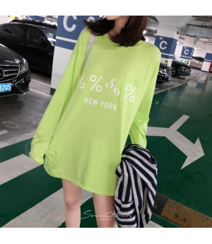 SomeOthers Long Sleeve Tees-Green