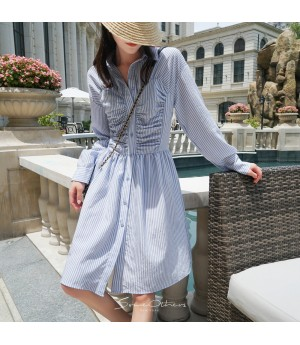 SomeOthers Stripe Shirt Dress
