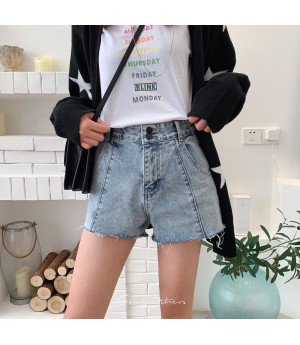 SomeOthers Denim Jeans Short-Blue