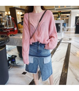 SomeOthers Mohair Sweater-Pink