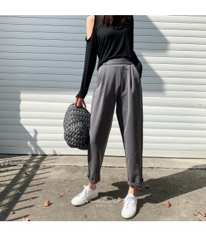 SomeOthers 19FW Leisure Trousers-Grey