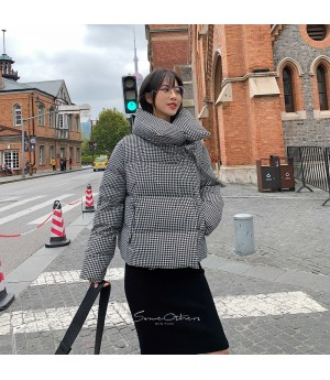 SomeOthers Thousand Bird Lattice Goose Down Jacket