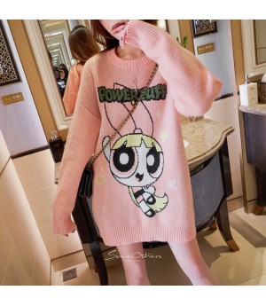 SomeOthers The Powerpuff Girls Shirt-Pink