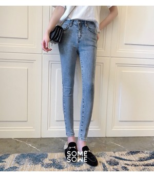 SomeOthers Breathing Elastic Force Jeans-Blue