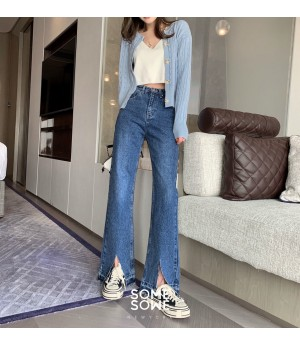 SomeOthers High Waist Split Jeans