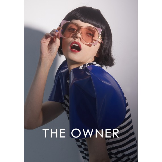 The Owner Sunglasses- Halo- Pink