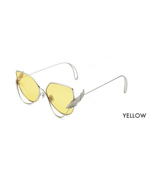 The Owner Sunglasses-Wonderland Yellow
