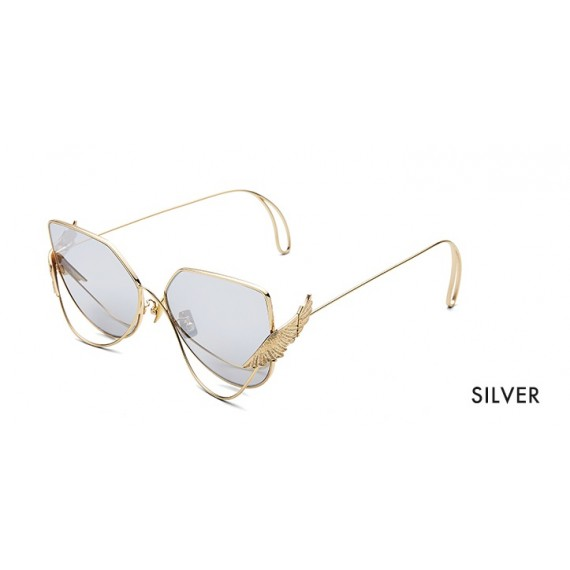 The Owner Sunglasses-Wonderland Silver