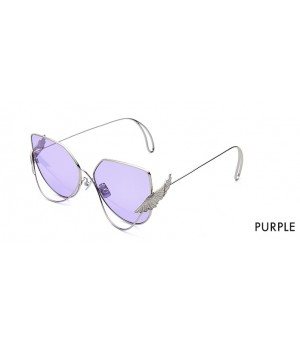 The Owner Sunglasses-Wonderland Purple