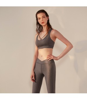 WISKII Sports Bra-Grey
